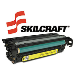 SKLCE252A - SKILCRAFT Remanufactured CE252A (504A) Toner, 7000 Page-Yield, Yellow