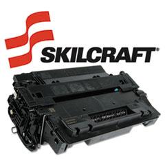 SKLCE255X - SKILCRAFT Remanufactured High-Yld CE255X (55X) Toner, 12500 Page-Yld, Blk