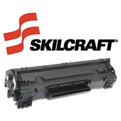 SKLCE278A - SKILCRAFT Remanufactured CE278A (78A) Toner, 2100 Page-Yield, Black