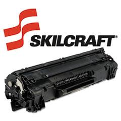 SKLCE285A - SKILCRAFT Remanufactured CE285A (85A) Toner, 1600 Page-Yield, Black