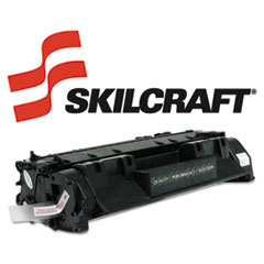 SKLCE505A - SKILCRAFT Remanufactured CE505A (05A) Toner, 2300 Page-Yield, Black