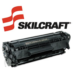 SKLQ2612A - SKILCRAFT Remanufactured Q2612A (12A) Toner, 2000 Page-Yield, Black