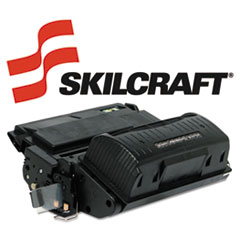 SKLQ5942X - SKILCRAFT Remanufactured High-Yld Q5942X (42X) Toner, 20000 Page-Yield, Black