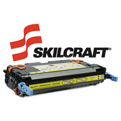 SKLQ5952A - SKILCRAFT Remanufactured Q5952A (643A) Toner, 10000 Page-Yield, Yellow