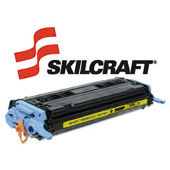 SKLQ6002A - SKILCRAFT Remanufactured Q6002A (124A) Toner, 2000 Page-Yield, Yellow