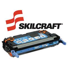 SKLQ6471A - SKILCRAFT Remanufactured Q6471A (501A) Toner, 4000 Page-Yield, Cyan