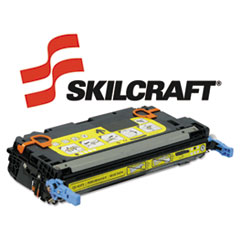SKLQ6472A - SKILCRAFT Remanufactured Q6472A (501A) Toner, 4000 Page-Yield, Yellow