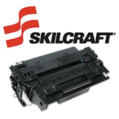 SKLQ6511X - SKILCRAFT Remanufactured High-Yld Q6511X (11X) Toner, 12000 Page-Yld, Blk