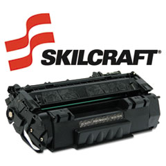 SKLQ7553A - SKILCRAFT Remanufactured Q7553A (53A) Toner, 3000 Page-Yield, Black