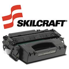 SKLQ7553X - SKILCRAFT Remanufactured High-Yld Q7553X (53X) Toner, 7000 Page-Yld, Blk
