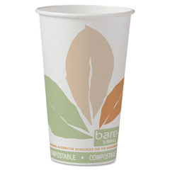 SLO316PLABB - Solo Bare® Eco-Forward® PLA Paper Hot Cups