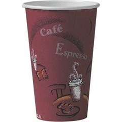 SLO316SIPK - Solo Paper Hot Drink Cups, 16 oz.