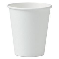 SLO376W - SOLO® Cup Company Single-Sided Poly Paper Hot Cups