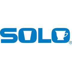 SLO626TS0090PK - SOLO® Cup Company Straw-Slot Cold Cup Lids