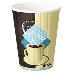 SLOIC12 - Solo Duo Shield™ Insulated Paper Hot Cups