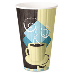SLOIC16 - Solo Duo Shield™ Insulated Paper Hot Cups