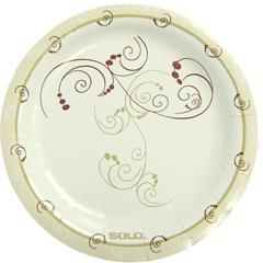 SLOMP6J8001CT - Solo Symphony Design Paper Plates