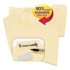 SMD10380 - Smead® Erasable SuperTab® File Folders