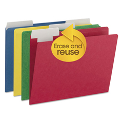 SMD10404 - Smead® FlexiFolder™ Heavyweight Folders with Movable Tabs
