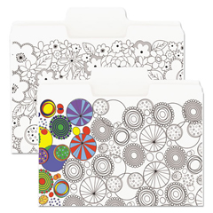 SMD11647 - Smead® SuperTab® Coloring File Folders