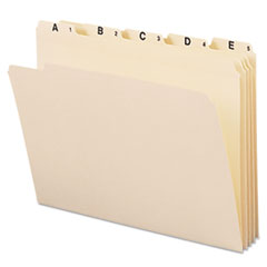 SMD11777 - Smead® Indexed File Folder Sets