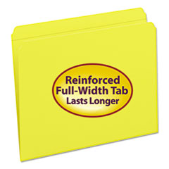 SMD12910 - Smead® Reinforced Top Tab Colored File Folders