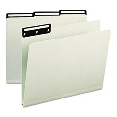 SMD13430 - Smead® Recycled Heavy Pressboard File Folders With Insertable Metal Tabs