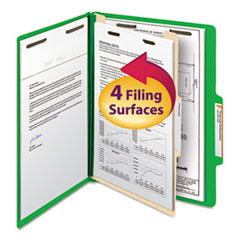 SMD13702 - Smead® Colored Top Tab Classification Folders