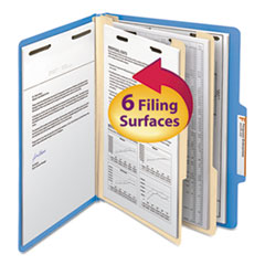 SMD14001 - Smead® Colored Top Tab Classification Folders