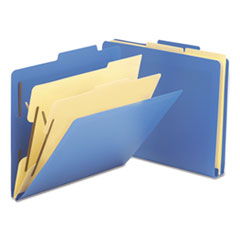 SMD14045 - Smead® Six-Section Poly Classification Folders
