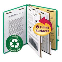 SMD14063 - Smead® 100% Recycled Pressboard Classification Folders