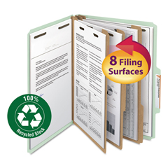 SMD14093 - Smead® 100% Recycled Pressboard Classification Folders