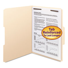 SMD14539 - Smead® WaterShed®/CutLess® Top Tab Fastener Folders