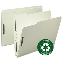 SMD15004 - Smead® 100% Recycled Pressboard Fastener Folders