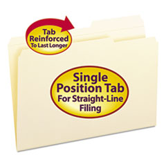 SMD15386 - Smead® Reinforced Guide Height File Folders