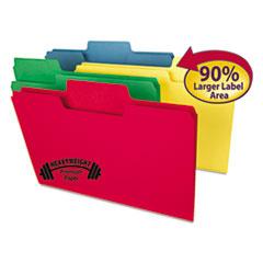 SMD15410 - Smead® SuperTab® Colored File Folders