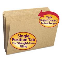 SMD15710 - Smead® Reinforced Heavyweight Kraft File Folder