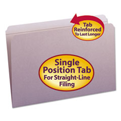 SMD17410 - Smead® Reinforced Top Tab Colored File Folders