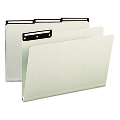 SMD18430 - Smead® Recycled Heavy Pressboard File Folders With Insertable Metal Tabs