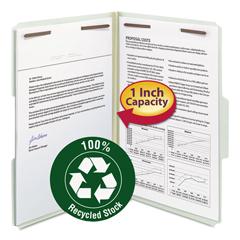 SMD20003 - Smead® 100% Recycled Pressboard Fastener Folders