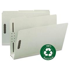 SMD20005 - Smead® 100% Recycled Pressboard Fastener Folders