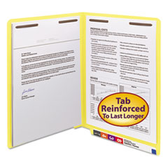 SMD25940 - Smead® Heavyweight Colored End Tab Folders with Fasteners