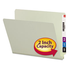 SMD26210 - Smead® Extra-Heavy Recycled Pressboard End Tab Folders