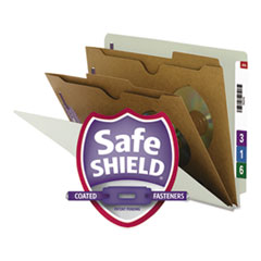 SMD26710 - Smead® Extra-Heavy 2 Pocket Divider End Tab Classification Folders