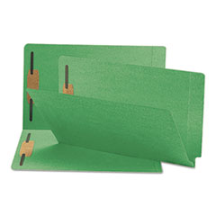 SMD28140 - Smead® Heavyweight Colored End Tab Folders with Fasteners