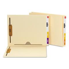 SMD34101 - Smead® Heavyweight Manila End Tab Pocket Folders with Fastener
