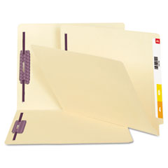 SMD34117 - Smead End Tab Fastener Folders with SafeSHIELD™ Coated Fastener Technology