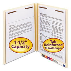 SMD34276 - Smead® Heavyweight Manila End Tab Folders with Fasteners