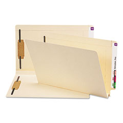 SMD37276 - Smead® Heavyweight Manila End Tab Folders with Fasteners