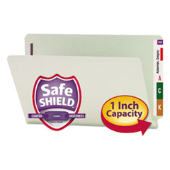 SMD37705 - Smead® End Tab Expansion Recycled Pressboard File Folders w/SafeSHIELD™ Coated Fasteners